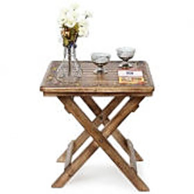 Wooden Antique Foldable Table