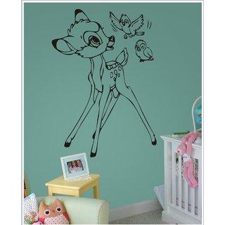 Decor Kafe Sticker Style Baby Deer Wall Sticker 18x24 Inch)