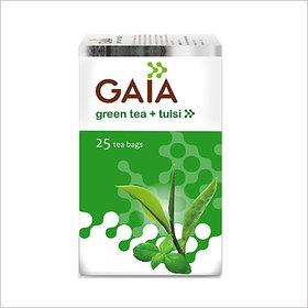 Gaia Tulsi Green Tea (25 Tea Bags)