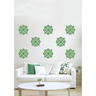 Decor Kafe Sticker Style Diamond  Arrow Motifs Wall Sticker Size-S 1212 Inch Color-Black