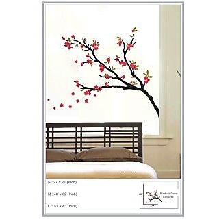 Decor Kafe Sticker Style Tree Branch Wall Sticker 43x53 Inch)