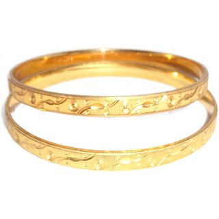 Set Of Artificial Gold Plated Bangles