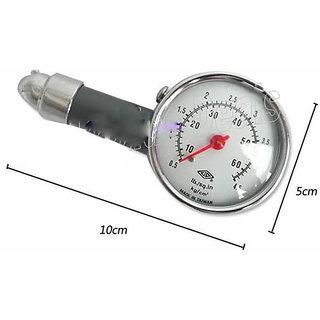 Best Metal Body Tyre Pressure Gauge Meter