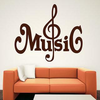 Decor Kafe Music Strings Wall Decal (19x16 Inch)
