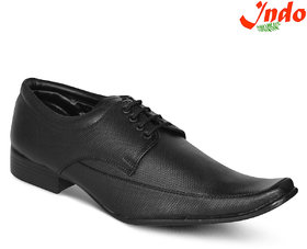 Indo Men's Black Formal Lace Up Shoe