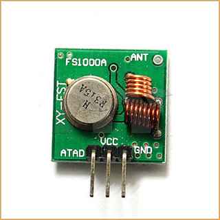 RF Modules (Transmitter  Receiver)