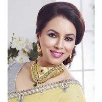 Kriaa Mithya  Appealing Design Choker Maroon  & Green Meenakari Necklace Set