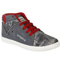 Oricum Footwear Grey-285 Men/Boys Casual Shoes.