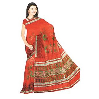 Kota Saree Collection Multicolor Brasso Printed Saree Without Blouse