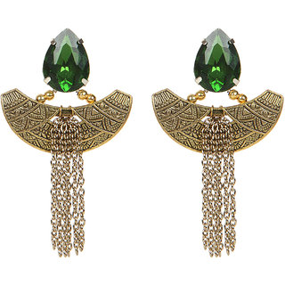 Envy Jewellery Gold Plated Gold Dangle Earring