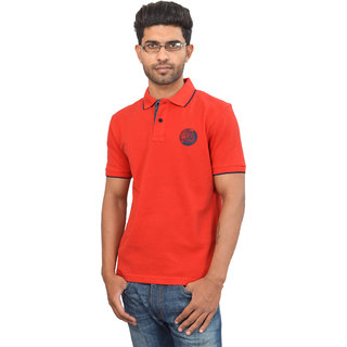 Red Solid Urban Tech T-shirt