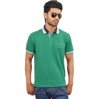 Green Solid Urban Tech T-shirt
