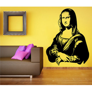 Decor Kafe Monalisa Wall Sticker (23x30 Inch)
