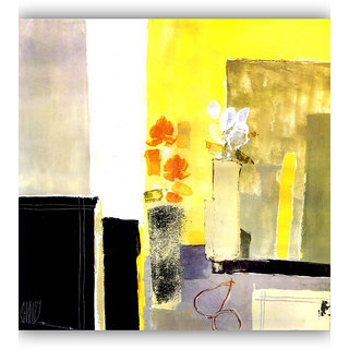 Vitalwalls Abstract Painting Premium Canvas Art Print.(Abstract-074-60cm)
