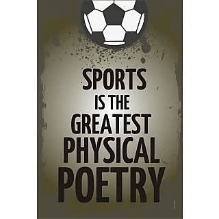 Wall Sticker - Sports the greatest physical poetry