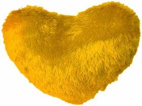 Ech oly soft Heart Yellow Pillow