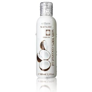 Nature Hair Oil With 100% Coconut Oil 100ml