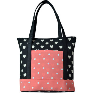 Angelfish Designer Shoulder Fabric Tote Bag for women- AELKABJ01082