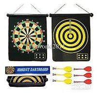 Welkin Magnetic Dart Board 15 Inch Long 12 Inch Broad With 6 Pins - 1950244