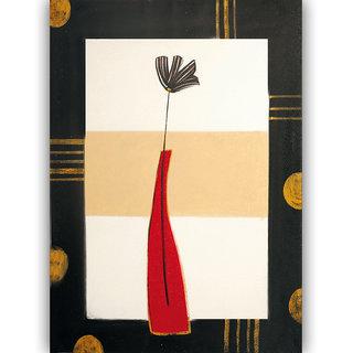Vitalwalls - Abstract Painting -Premium Canvas Art Print (Abstract-442-60cm)