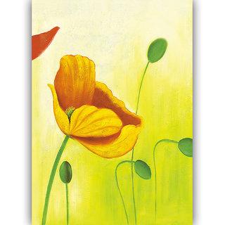 Vitalwalls Abstract Painting Premium Canvas Art Print.(Abstract-215-30cm)