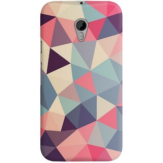 The Fappy Store Triangle Affair Designer Printed Back Casecover Motorola Moto G3