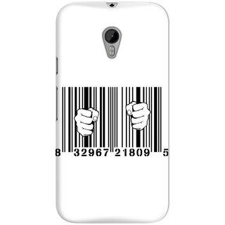 The Fappy Store Upc-Barcode-Prison Hard Plastic Back Casecover Moto G-3
