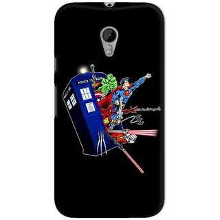 The Fappy Store Heroes-In-The-Tardis Hard Plastic Back Casecover Moto G-3