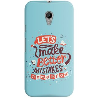 The Fappy Store Better Mistake Designer Printed Back Casecover Motorola Moto G3