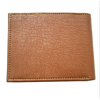 Style Corner Brown Leather Wallet