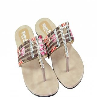 Vandy Crafts Beige Sandals