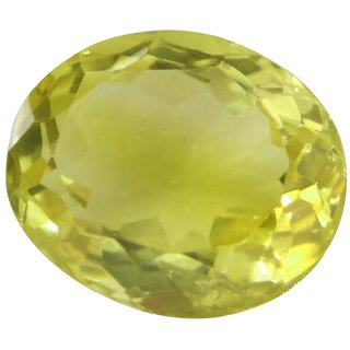 5.62 Ct. / 6.24 Ratti Pure  Iigs Certified Citrine (Sunhella) Astrological Gemstone