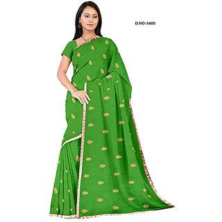 Endra designer green Saree