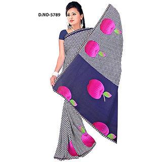 Endra designer purple Saree