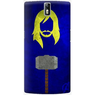 The Fappy Store Thor-Designer Printed Hard Back Case Cover For One Plus One