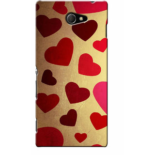 G.store Hard Back Case Cover For Sony Xperia M2 - G1071