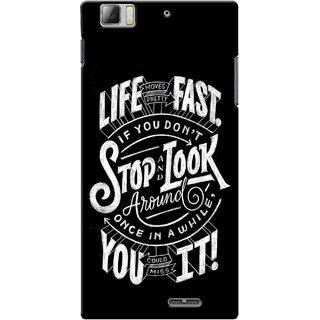 G.store Hard Back Case Cover For Lenovo K900 - G484