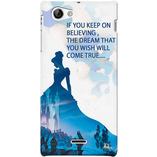 G.store Hard Back Case Cover For Sony Xperia J - G1065