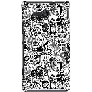 G.store Hard Back Case Cover For Sony Xperia SP - G1107