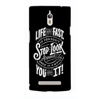 G.store Hard Back Case Cover For Oppo Find 7 - G674