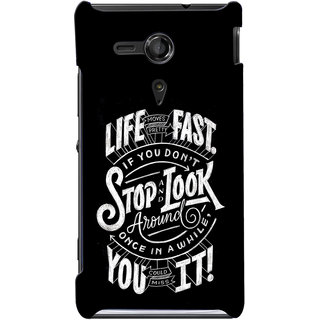 G.store Hard Back Case Cover For Sony Xperia SP - G1104