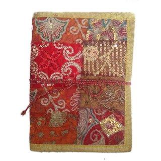 Handmade Chamak Jari Bahi (Size 20x14.8 cm) Diary