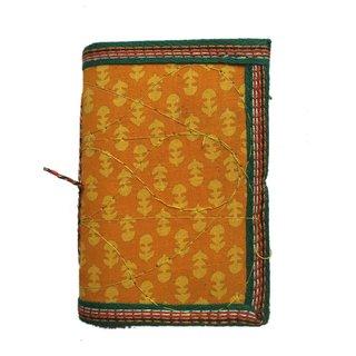 Handmade Bagru print Diary  (Size 12.6 x8.7 CM)