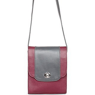 Borsavela Cameo Blocked Sling Bag