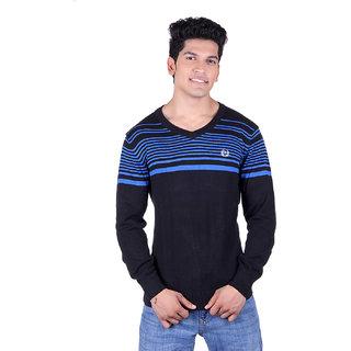 Ogarti 2010 Striped Black Mens Sweater