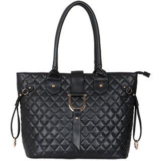 Cappuccino Black Handbag 23012 Black