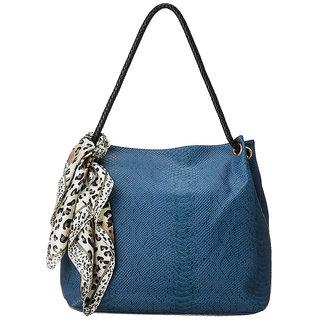Cappuccino Blue Handbag 23102 Blue