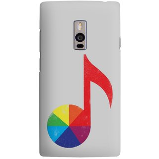 The Fappy Store music theoy Designer Printed Back Cover Case One Plus 2
