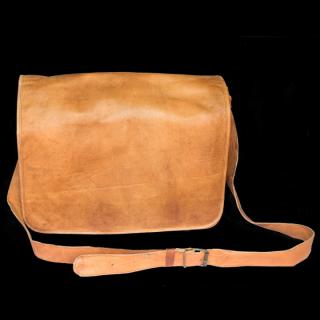 Vintage Laptop Full Flap Bag
