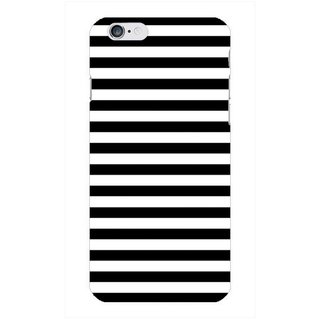 The Fappy Store Modern-Black Hard Plastic Back Case Cover For Apple Iphone 6 Tfpj80440 -100